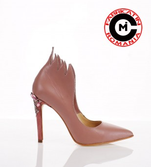 Stiletto Fiama rosa